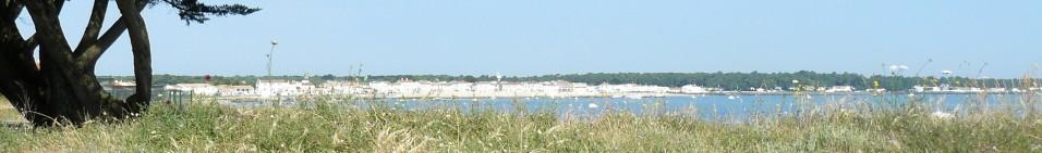 Rivedoux-Plage vue depuis le Pont de l\'Ile de Ré