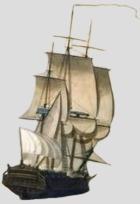 La Fregate nommée La Danae - 17 mars 1759