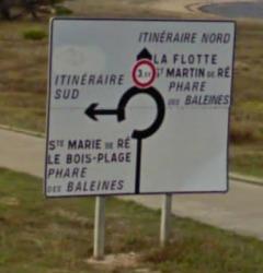 Panneau Rivedoux-Plage