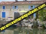 Maison à louer dans le Marais Poitevin + url
