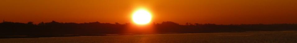 Lever de soleil sur la plage du Boutillon